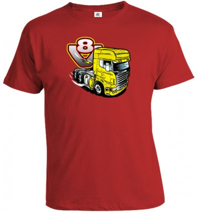 Tričko pánske - V8-truck