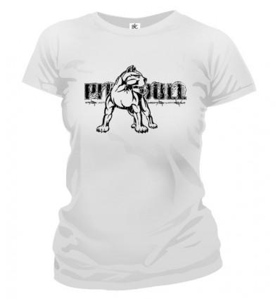 Tričko dámske - PitBull
