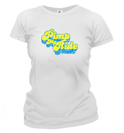 Tričko dámske - Pimp My Ride
