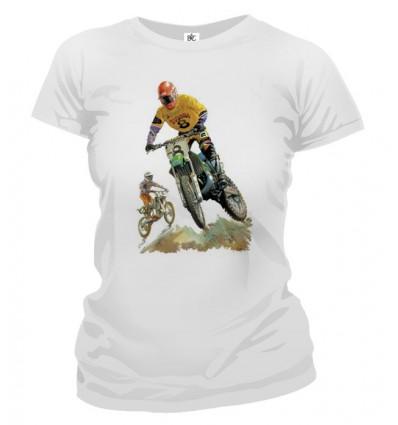 Tričko dámske - Dirt Bikin