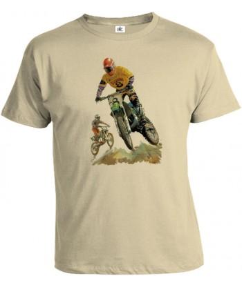 Tričko pánske - Dirt Bikin