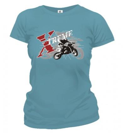 Tričko dámske - Extreme cross