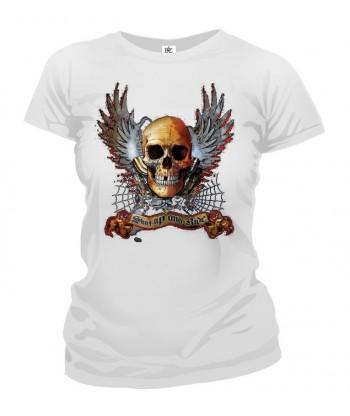 Tričko dámske - Winged Skull