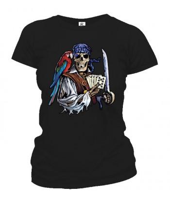 Tričko dámske - Mŕtvy Pirát