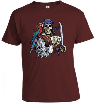Tričko pánske - Mŕtvy Pirát