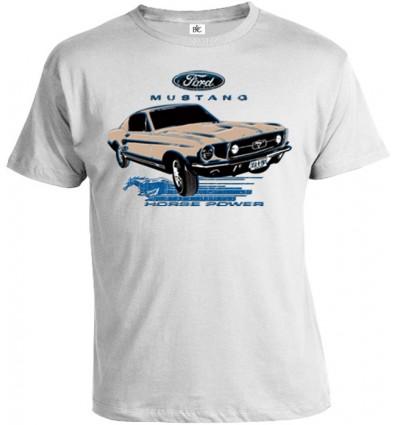 Tričko pánske - Ford Mustang