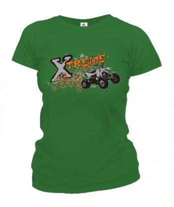 Tričko dámske - Extreme quadbike