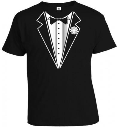 Tričko pánske - Tuxedo