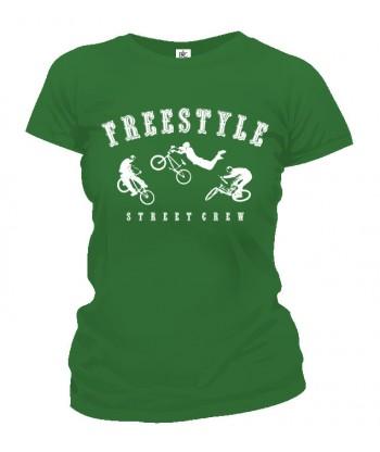 Tričko dámske - Freestyle BMX