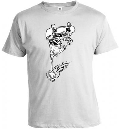 Tričko pánske - Skater Skull