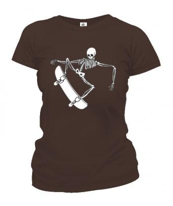 Tričko dámske - Skater Skull 2