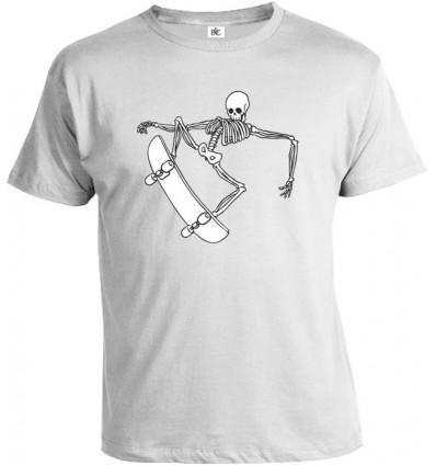Tričko pánske - Skater Skull 2