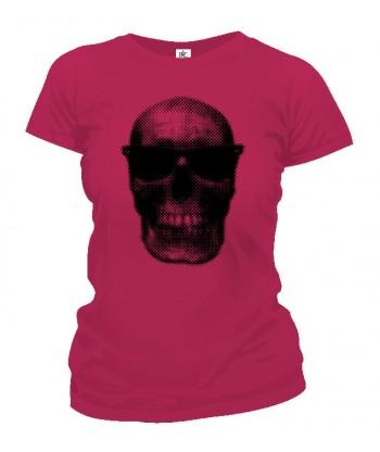 Tričko dámske - Cool Skull