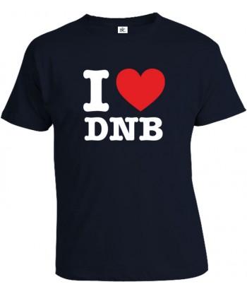 Tričko pánske - I Love DNB