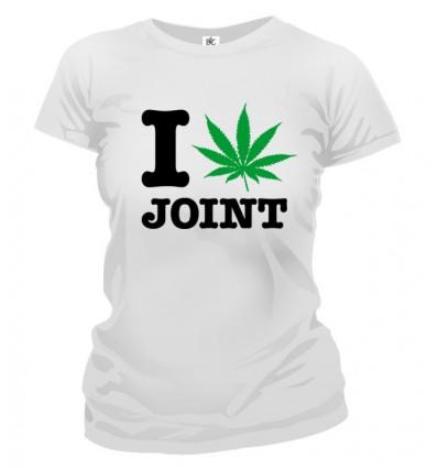 Tričko dámske - I Love Joint