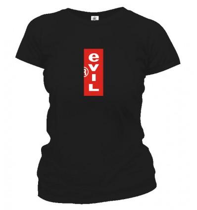Tričko dámske - Evil