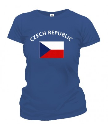 Tričko dámske - Czech Republic