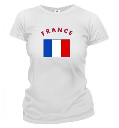 Tričko dámske - France