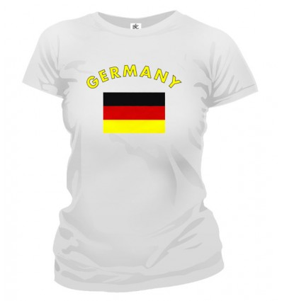 Tričko dámske - Germany