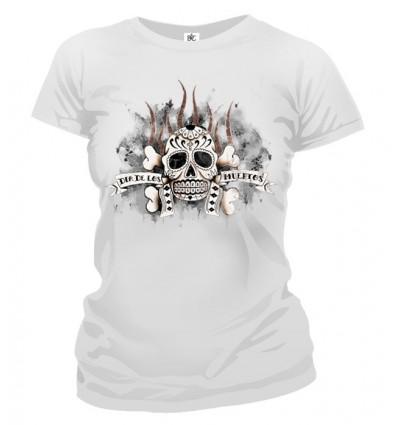 Tričko dámske - Indiánska Lebka