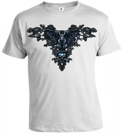 Tričko pánske - Gotické Lebky 2