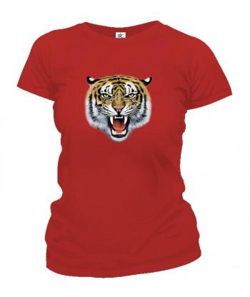 Tričko dámske - Tigria hlava