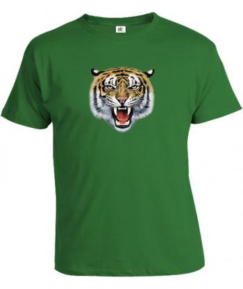 Tričko pánske - Tigria hlava