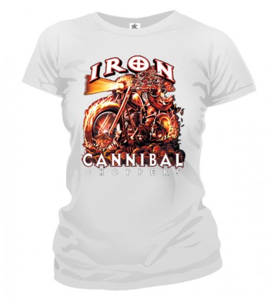 Tričko dámske - Cannibal Choppers