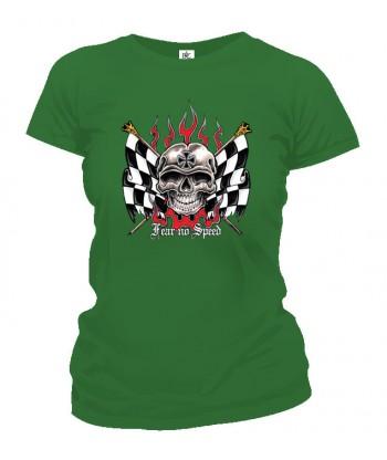 Tričko dámske - Fear No Speed