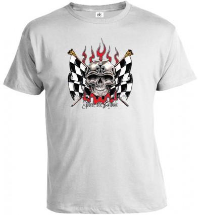 Tričko pánske - Fear No Speed
