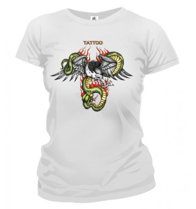 Tričko dámske - Tattoo