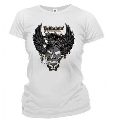 Tričko dámske - Okrídlená smrťka