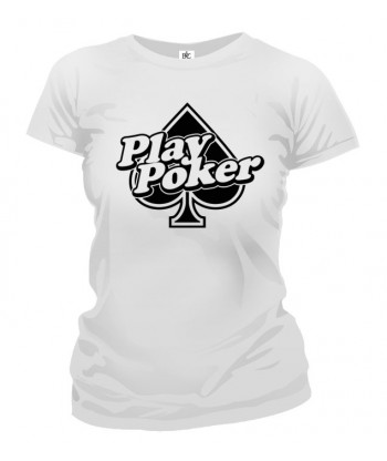 Tričko dámske - Play Poker