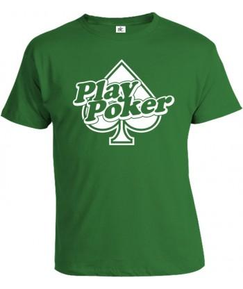 Tričko pánske - Play Poker