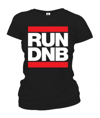 Tričko dámske - RUN DNB