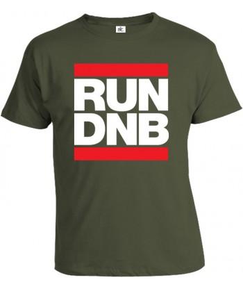 Tričko pánske - RUN DNB