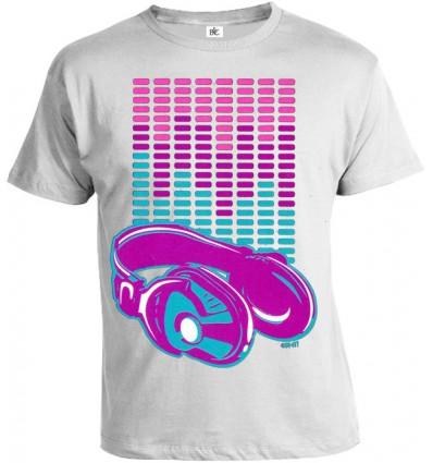 Tričko pánske - Neon Slúchadlá