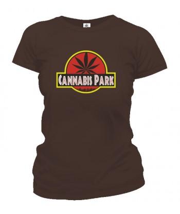 Tričko dámske - Cannabis Park