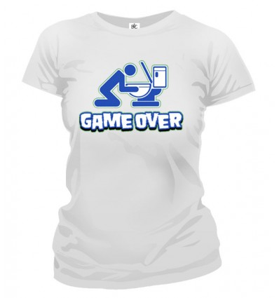 Tričko dámske - Game Over 2