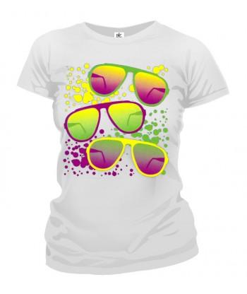 Tričko dámske - Retro Okuliare