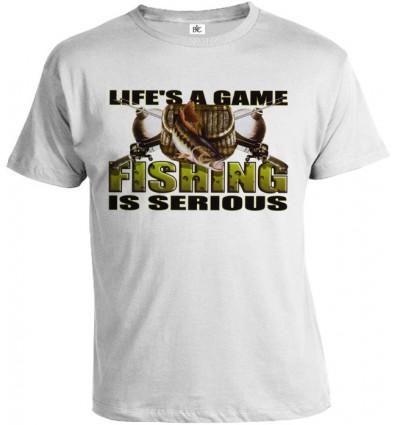 Tričko pánske - Rybárstvo