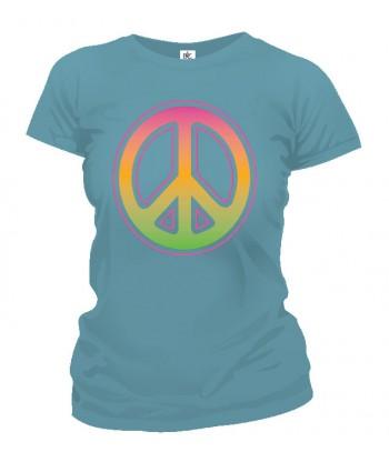 Tričko dámske - Neon Peace