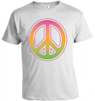 Tričko pánske - Neon Peace