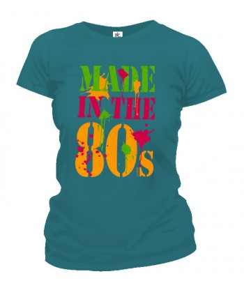 Tričko dámske - Made In The 80s