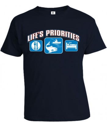 Tričko pánske - Životné priority - Rybárstvo