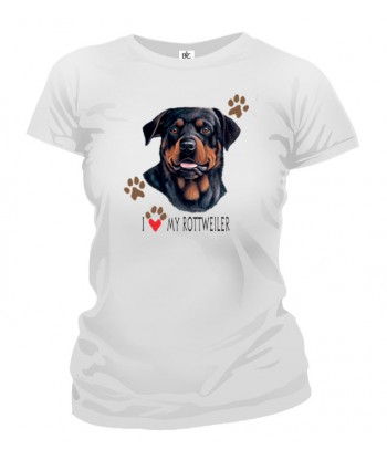 Tričko dámske - Rottweiler