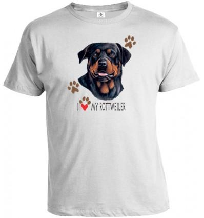Tričko pánske - Rottweiler