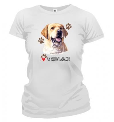 Tričko dámske - Labrador