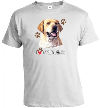 Tričko pánske - Labrador