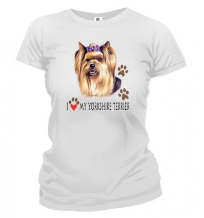 Tričko dámske - Yorkshirský teriér